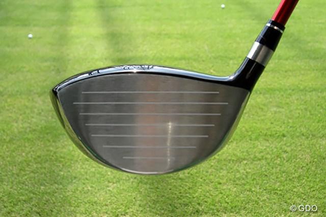 本間ゴルフ TOUR WORLD TW737 450 ドライバー フェース画像