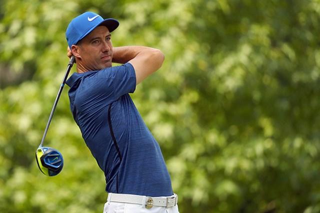 意気揚々と中国入りするR.フィッシャー。自身への期待も高い(Scott Halleran/PGA of America via Getty Images) ※16年「全米プロ」撮影