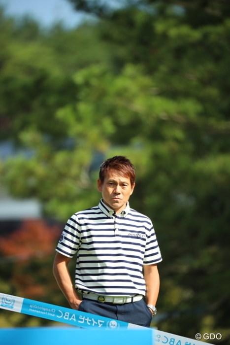 今週もレポーターやるのかな? 2016年 マイナビABCチャンピオンシップ 初日 田中秀道