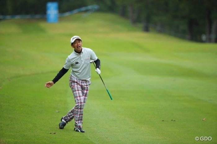 なかなかゴルフって上手くいかないねー。 2016年 マイナビABCチャンピオンシップ 2日目 河野晃一郎