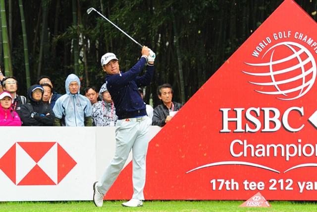 2017年 WGC HSBCチャンピオンズ 2日目 松山英樹 松山英樹が単独首位に浮上。後続に3打差をつけ、大会を折り返した※画像提供:Asian Tour