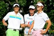 2009年 韓国オープン 初日 石川遼&ダニー・リー