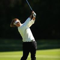 我慢のゴルフで何とか粘りましたね。 2016年 樋口久子 三菱電機レディスゴルフトーナメント 2日目 福田裕子