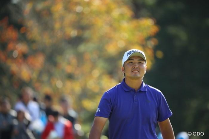 初優勝には届かなかったが、自己最高位の2位に入った小林伸太郎 2016年 マイナビABCチャンピオンシップ 最終日 小林伸太郎