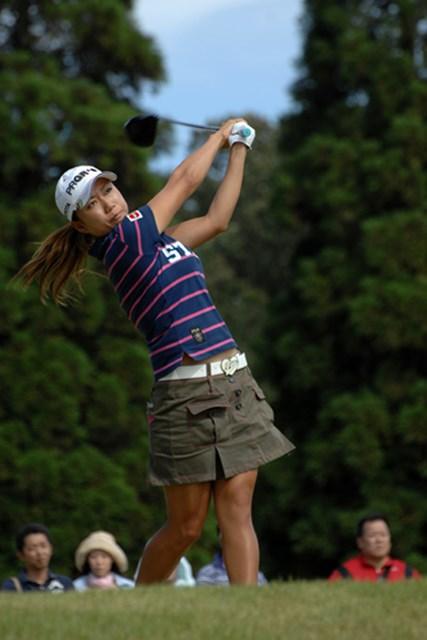 2009年 日本女子プロゴルフ選手権コニカミノルタ杯 初日 原江里菜 2日目、笑顔で巻き返して欲しい原