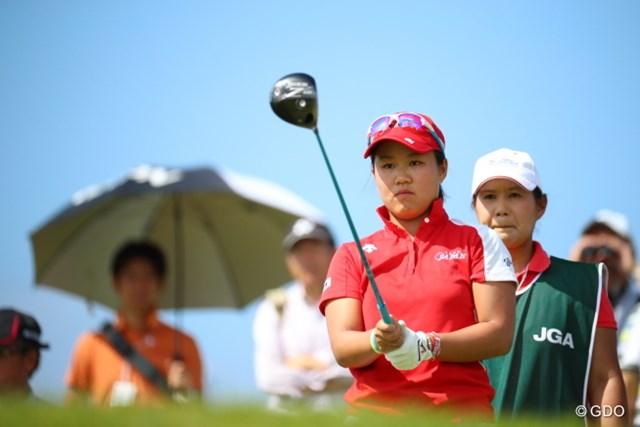 プロとしては初めてのトーナメント出場。賞金のかかった大会で畑岡奈紗はどんなプレーを見せるか? ※撮影は2016年「日本女子オープン」