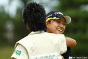 2009年 日本女子プロゴルフ選手権コニカミノルタ杯 2日目 原江里菜