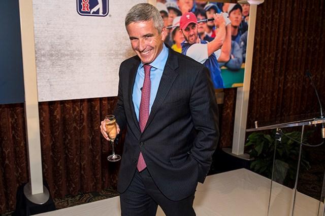 PGAツアーのコミッショナー就任が決まったジェイ・モナハン氏(Stan Badz/PGA TOUR)