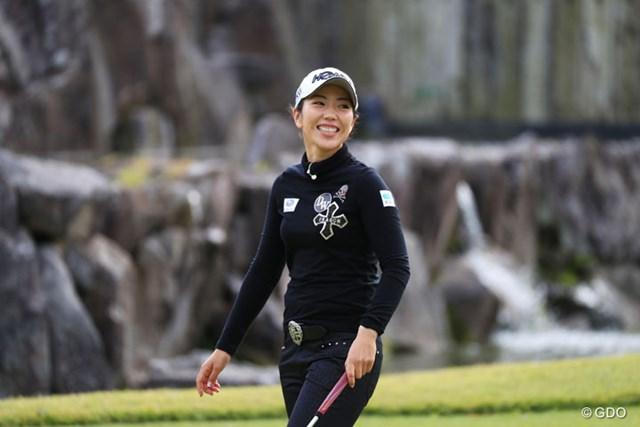 2016年 伊藤園レディスゴルフトーナメント 事前 笠りつ子 賞金女王の可能性を残す笠りつ子。3年ぶりの日本人賞金女王は生まれるか。
