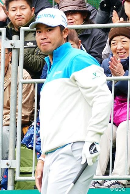 2016年 三井住友VISA太平洋マスターズ 2日目 松山英樹 単独首位から2日目のプレーを開始した松山英樹