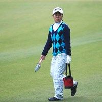 プロになってもマナーは忘れません 2016年 伊藤園レディスゴルフトーナメント 初日 畑岡奈紗