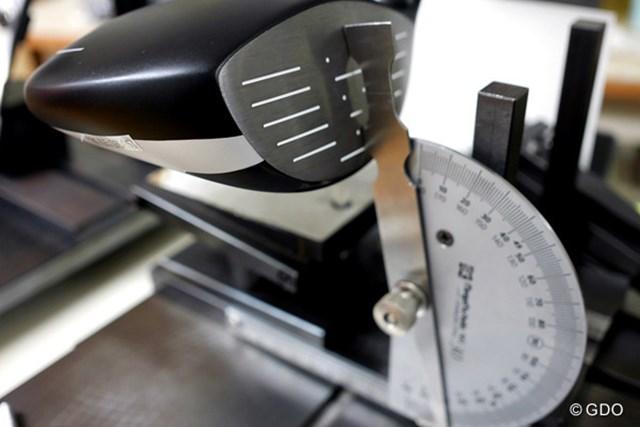 ヨネックス EZONE XPG タイプHD ドライバー マーク試打 (画像 4枚目) 表示ロフト角が9度に対してリアルロフト角が11.25度と大きく、フックフェースなので高弾道のドローボールをイメージしやすい