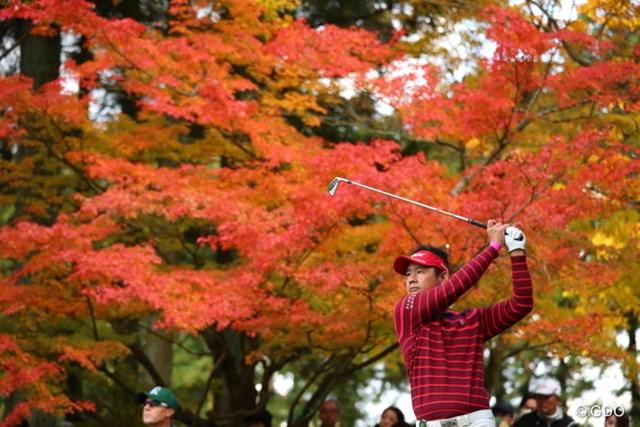 2016年 三井住友VISA太平洋マスターズ 3日目 藤田寛之 藤田寛之は独走する松山英樹について「松山ハイライトをテレビで見たい」と笑った