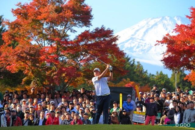 富士の麓に松山英樹が大きくそびえ立った