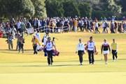 2016年 伊藤園レディスゴルフトーナメント 最終日 最終組