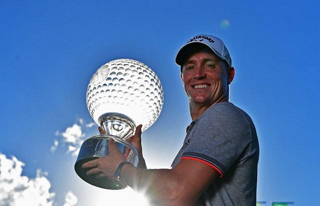 今季通算4勝目を挙げたA.ノレン(Stuart Franklin/Getty Images)