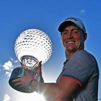 今季通算4勝目を挙げたA.ノレン(Stuart Franklin/Getty Images) 2016年 ネッドバンクゴルフチャレンジ 最終日 アレックス・ノレン