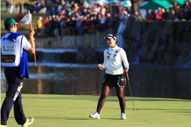 安定した成績で世界ランク37位となった笠りつ子。国内逆転女王の可能性をまだ残している