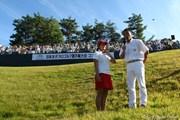 2009年 日本女子プロゴルフ選手権大会コニカミノルタ杯 最終日 優勝インタビュー