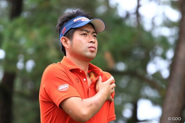 2016年 ダンロップフェニックストーナメント 最終日 池田勇太 まだ痛そうだね来週大丈夫かな?