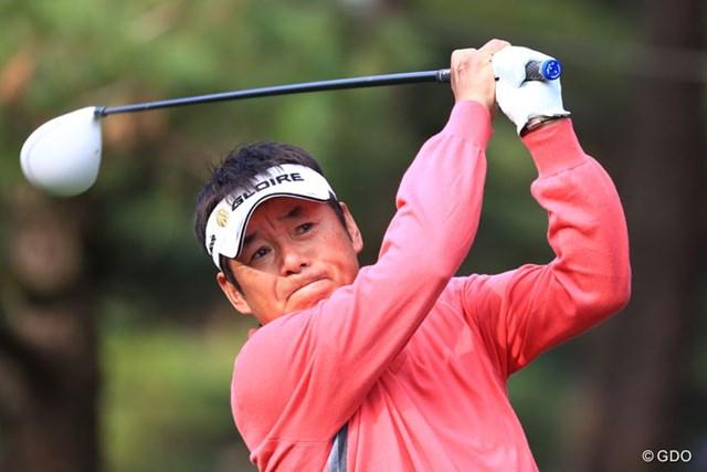 60歳の尾崎直道は今季4回目の予選通過。兄・ジャンボに何を思う? ※初日撮影