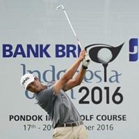 予選2日間で3イーグルを決めたヴィーアマンが首位に並んだ ※アジアンツアー提供 2016年 BANK BRI-JCBインドネシアオープン 2日目 ジョハネス・ヴィーアマン