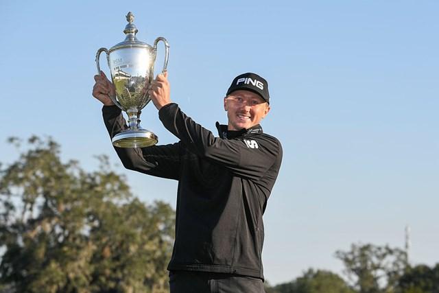 ツアー初優勝を決めたマッケンジー・ヒューズ(Ryan Young/PGA TOUR)