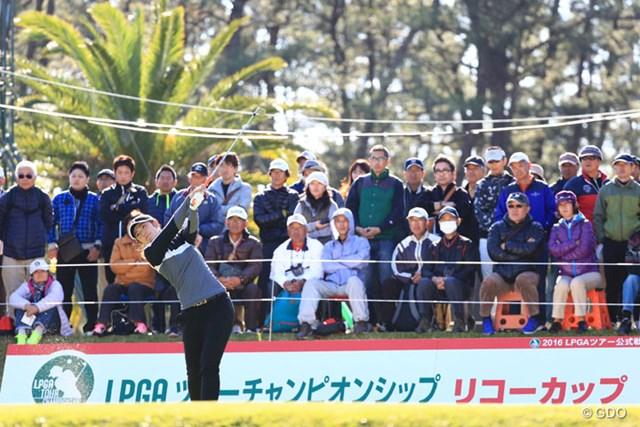 今季未勝利が続く渡邉彩香。最終戦のラストチャンスに挑む