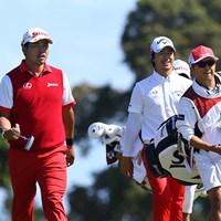 15番と16番の連続バーディーでチームの空気はガラッと上向いた 2017年 ISPSハンダ ゴルフワールドカップ 初日 松山英樹 石川遼