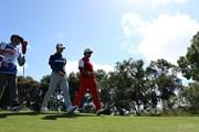 2017年 ISPSハンダ ゴルフワールドカップ 初日 松山英樹