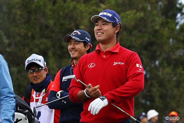 上位に食らいついた日本チームだったが、石川と松山に満足する様子はなかった