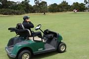2017年 ISPSハンダ ゴルフワールドカップ 2日目 ルール委員