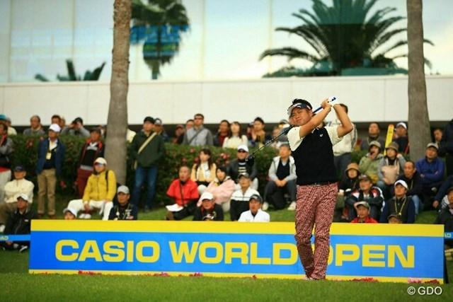 2016年 カシオワールドオープンゴルフトーナメント 3日目 池田勇太 池田勇太1打差で首位を快走している