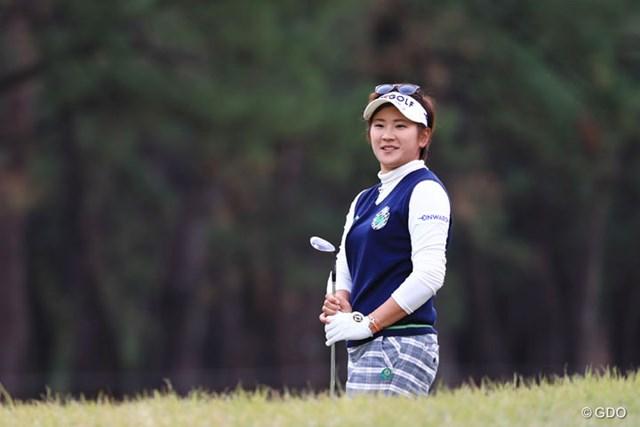 2016年 LPGAツアー選手権リコーカップ 3日目 成田美寿々 「66」をマークして通算2アンダー8位に浮上した成田美寿々