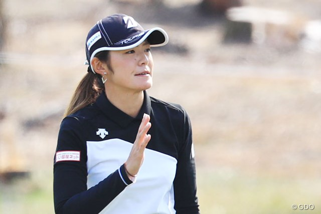2016年 LPGAツアー選手権リコーカップ 3日目 渡邉彩香 首位と6打差5位に後退した渡邉彩香