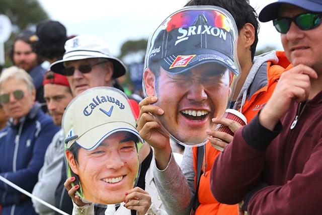 松山の笑顔がナイス!