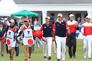 2017年 ISPSハンダ ゴルフワールドカップ 最終日 松山英樹 石川遼