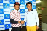 2016年 カシオワールドオープンゴルフトーナメント 最終日 正岡竜二(左)と池田勇太