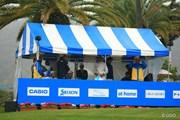 2016年 カシオワールドオープンゴルフトーナメント 最終日 競技中断