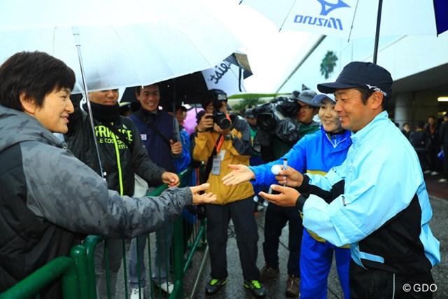 2016年 カシオワールドオープンゴルフトーナメント 最終日 弘井太郎 Kochi黒潮CC所属の弘井プロはギャラリーからも大人気。
