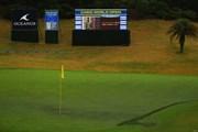 2016年 カシオワールドオープンゴルフトーナメント 最終日 18番グリーン