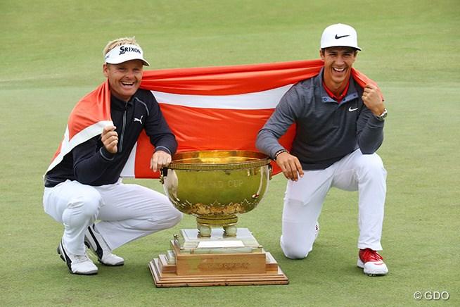 松山&石川の日本は6位 デンマークが初栄冠/ゴルフW杯