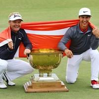 伏兵2人が母国に初栄冠をもたらした 2017年 ISPSハンダ ゴルフワールドカップ 事前 ソレン・ケルドセン トービヨン・オルセン