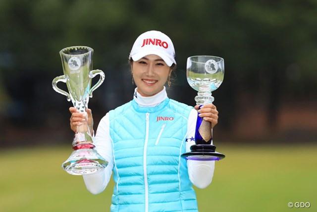 2016年 LPGAツアー選手権リコーカップ 最終日 キム・ハヌル キム・ハヌルが最終戦で国内メジャー初勝利を遂げた