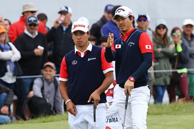 2017年 ISPSハンダ ゴルフワールドカップ 最終日 松山英樹 石川遼 優勝を逃した松山と石川は結果を重く受け止めていた