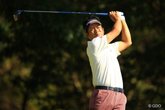 今季3勝目を飾った池田勇太。シーズン終盤につけた加速を最終戦へとつなげるか ※3日目撮影