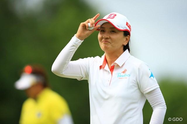 茂木宏美 ツアー撤退を表明した茂木宏美は母として決断を下した(※撮影は2015年「アース・モンダミンカップ」最終日)