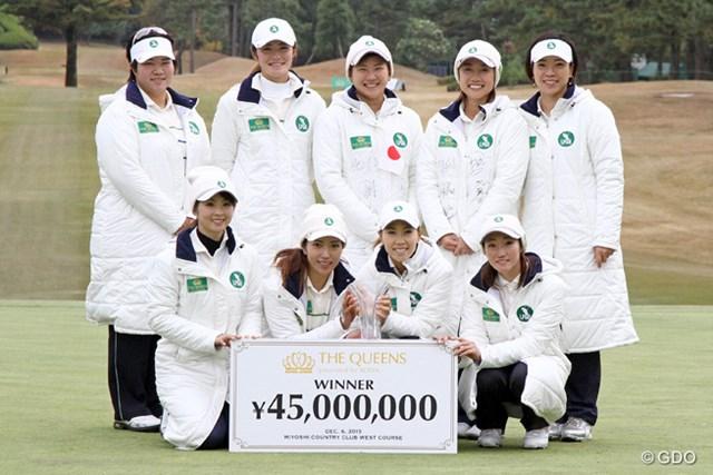 昨年大会を制した日本チーム。今年は防衛戦となる