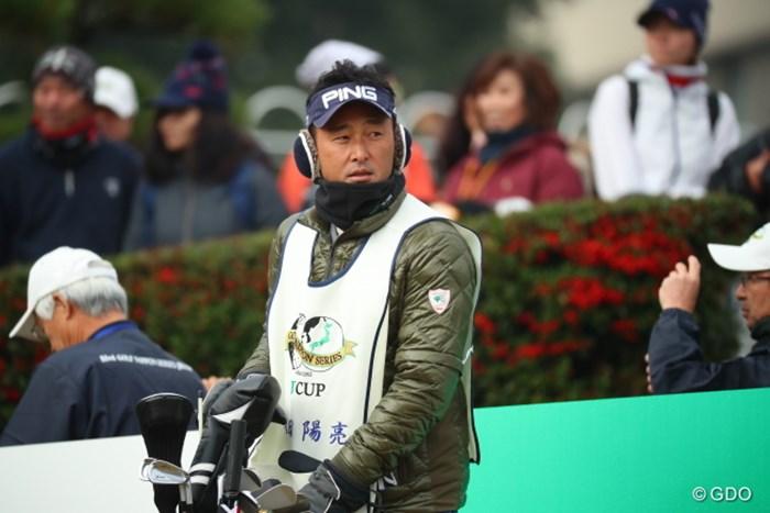 そこまで寒いか堀尾研仁。 2016年 ゴルフ日本シリーズJTカップ 初日 堀尾研仁