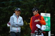 2016年 ゴルフ日本シリーズJTカップ 2日目 佐藤信人&金亨成